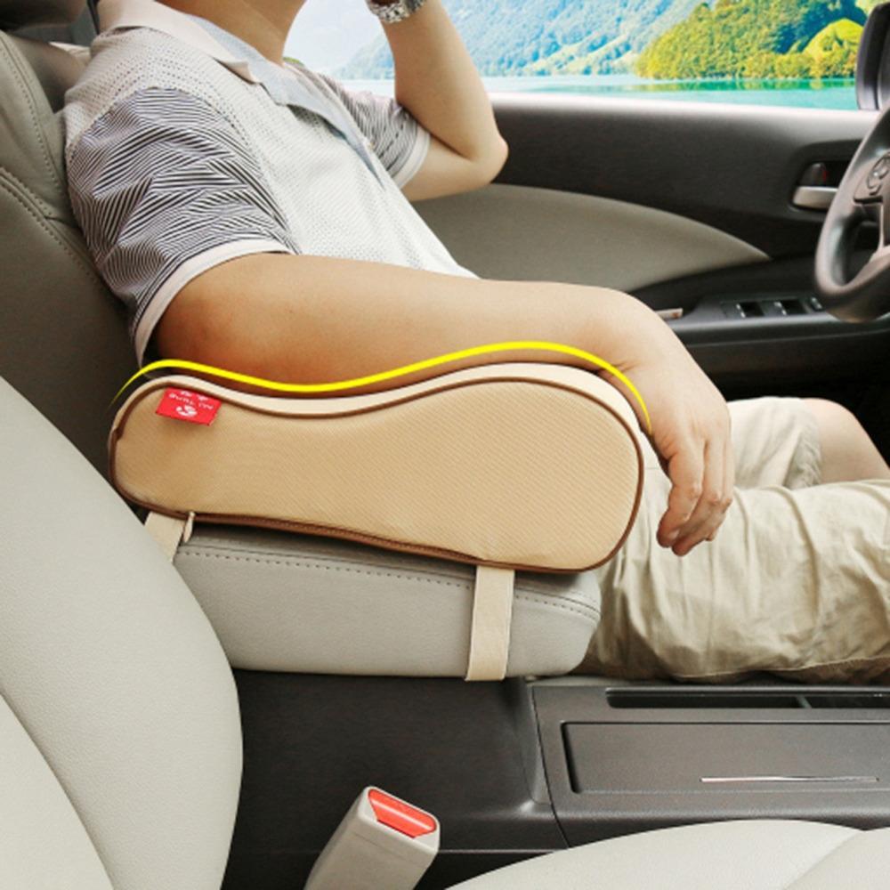 car styling Car Armrest Pad super Soft Universal Auto Armrests Covers Car Center Console Arm Rest Seat Box Pads Protective Case
