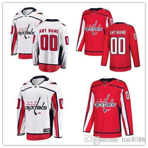 7bea18ae0 2018 Washington Capitals Hockey Jerseys Custom Men s Women Youth ...