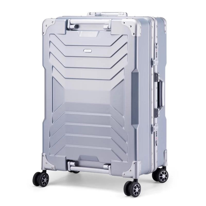 "New 20""24""28""inch PC Aluminum frame business trip travel bag mala de viagem trolley suitcase carry on rolling luggage on wheels"