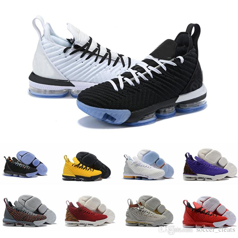 save off 85d3f 93098 2019 2019 New 16s Equality Basketball Shoes Sneakers For Men James 16 Watch  The Throne King Oreo BHM Black History Month Mens Trainers Sports From ...