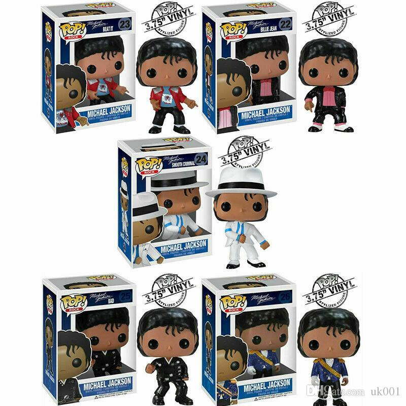 FUNKO POP MICHAEL JACKSON Smooth Criminal BEAT IT BILLIE JEAN BAD