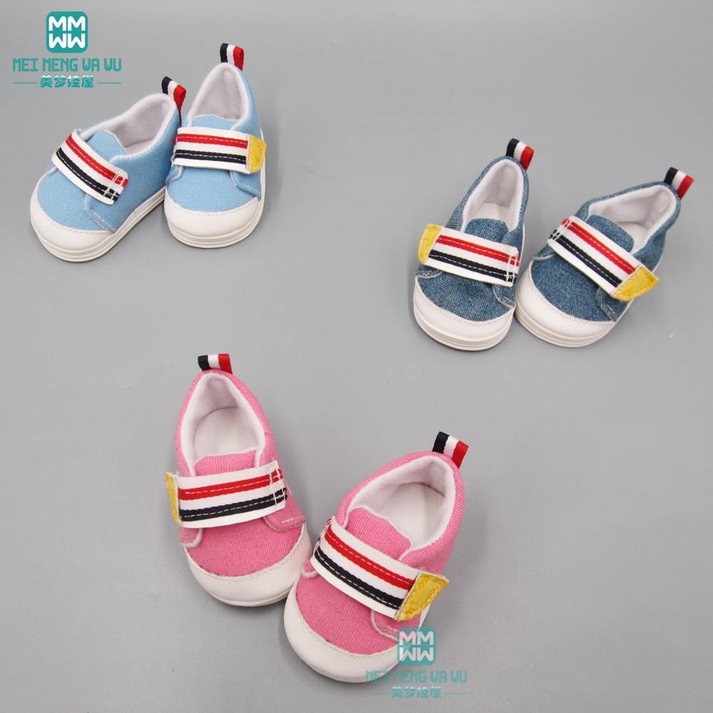 4185c049478da Acheter 2019 NOUVELLES Mini Chaussures De Poupée Pour Les Accessoires De  Poupée Nés À La Mode