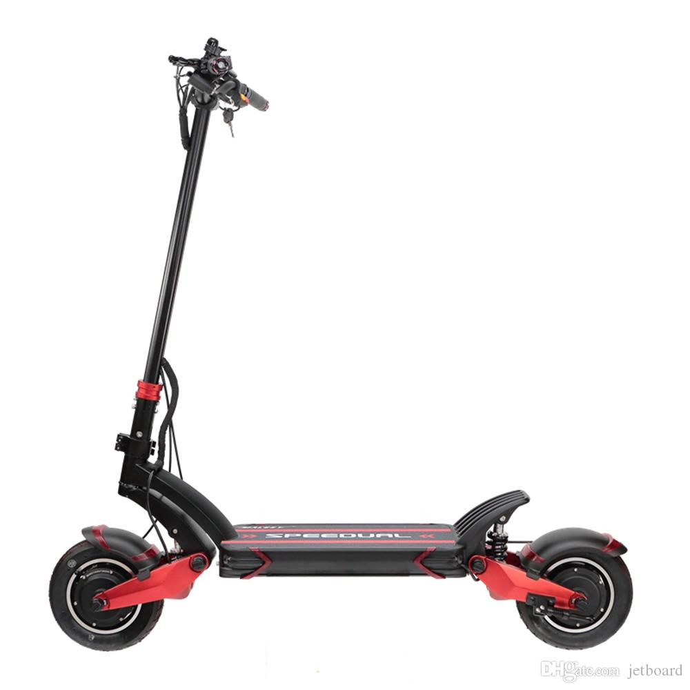 Fast Electric Scooter >> Fast Speed 10inch Scooter Dual Motor Electric Scooter 52v 2000w E Scooter 65km H Double Drive High Speed Off Road Scooter Macury Speedual