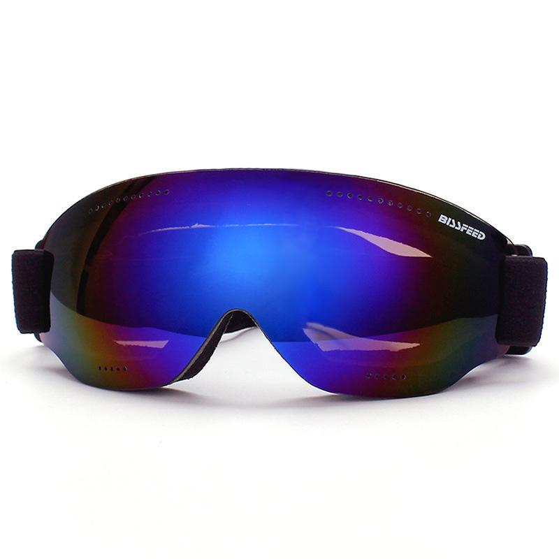 1b63f67bccc Ski Goggles Kids Double Lens UV400 Anti-fog Windproof Dustproof Snow ...