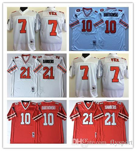1f817a72edf4b 2019 NCAA Mens Atlanta Falcons Red White 10 Steve BARTKOWSKI 21 Deion  Sanders 7 Michael Vick Football Jerseys From Flysport, $24.23 | DHgate.Com