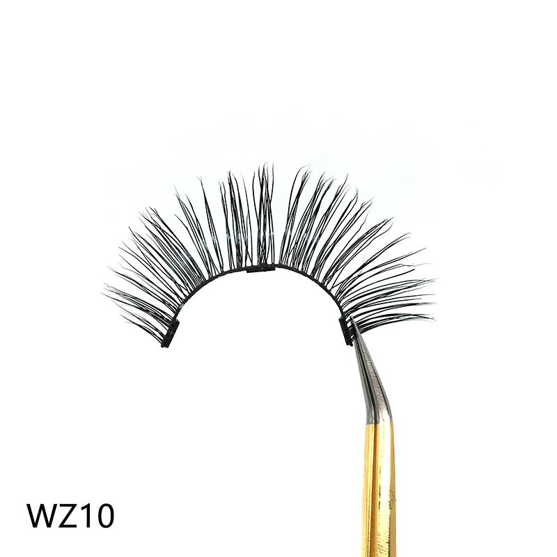 2019 New WZ10 private label Magnetic eyeliner and magnetic real mink eyelashes-waterproof liquid liner DHL