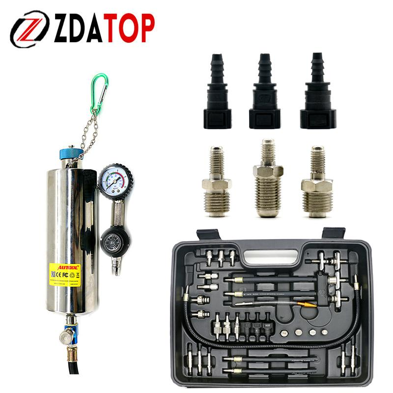 AUTOOL C100 Injector Clean Kits Top Quality Fuel System Injector Cleaner  for Petrol EFI Throttle Fit for Gasoline Injector