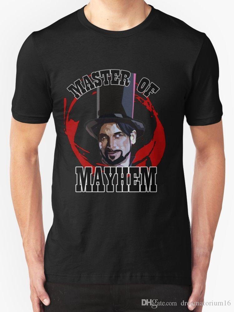 cd027726 New Master Of Mayhem. Julian Slink. Blood Drive Men's T-shirt size S-2XL