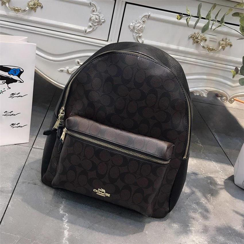 Fashion Lady Brand Backpack New Arrival Leather Double Shoulder Bags for Girls Men and Women Brand School Bags Wholesale