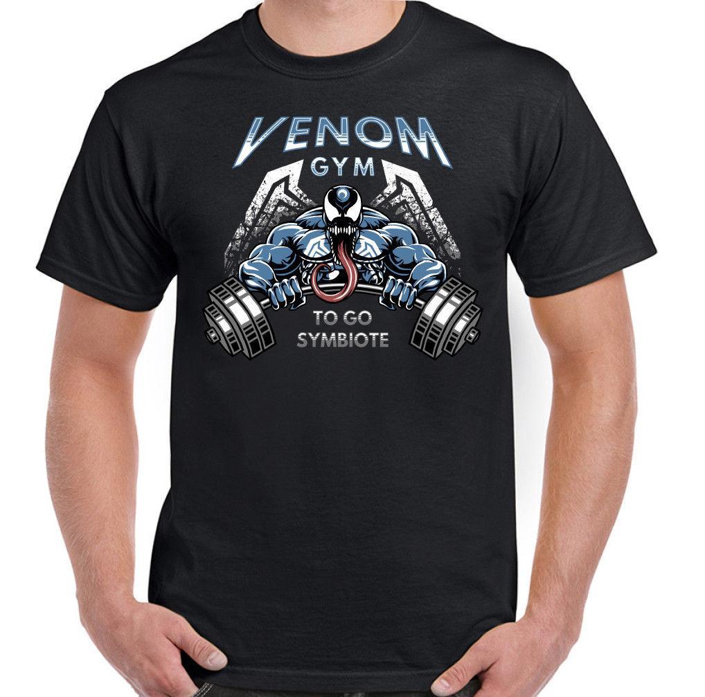 Compre Venom Gym Camiseta De Entrenamiento Para Hombre Top MMA Artes  Marciales Levantamiento De Pesas Culturismo Nuevo 2018 Verano Caliente  Impresión Casual ... 8fe56d21e54