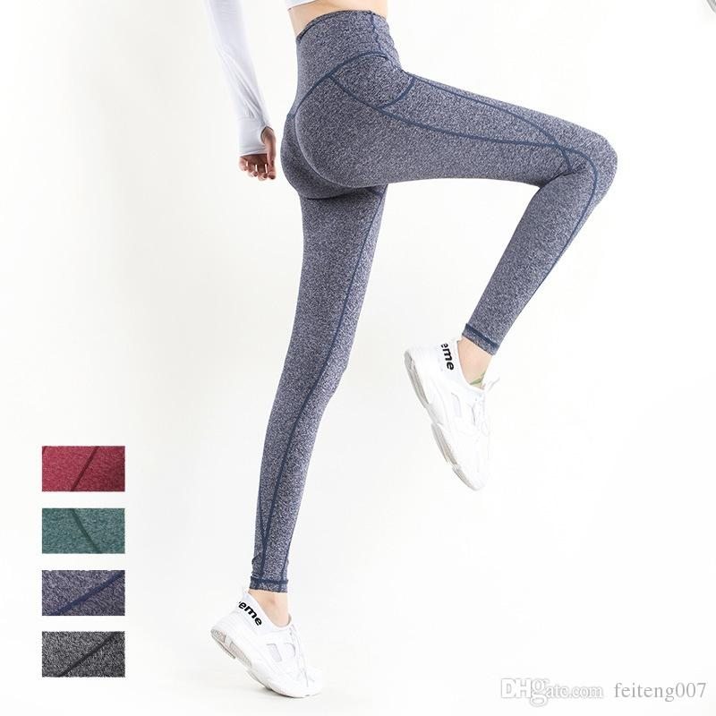 990e48759b1 Imlario Women s High Waisted Gym Leggings with Pockets Yoga Pants Plus Size  Workout Leggings Slim Fitness Tights Non See-Through  799396