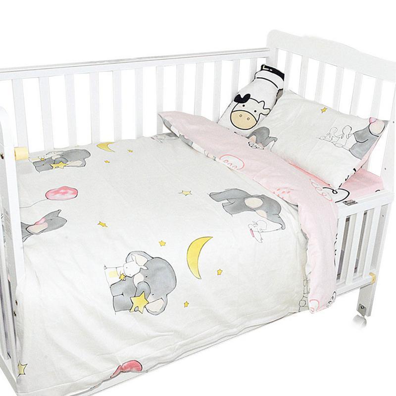 Großhandel Kinder Baby Krippe Kindergarten Bettwäsche Set Aus Reiner