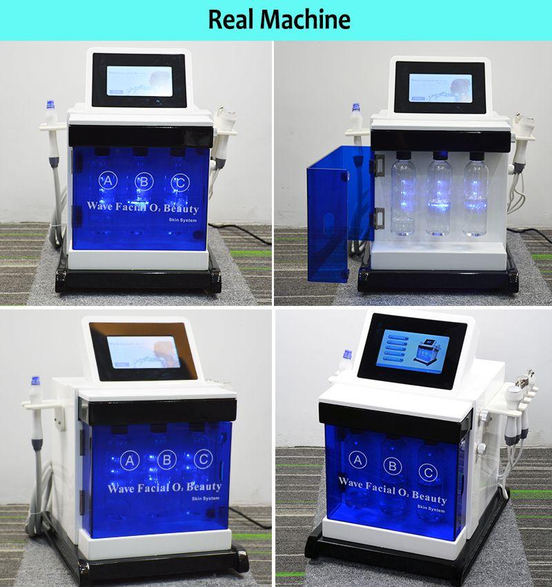 Top Hydra Microdermabrasion Peel Machine Clear Blackheads Hydrafacial Dermabrasion Facial Cleaning Treatment Spa Salon Home Use Skin Care