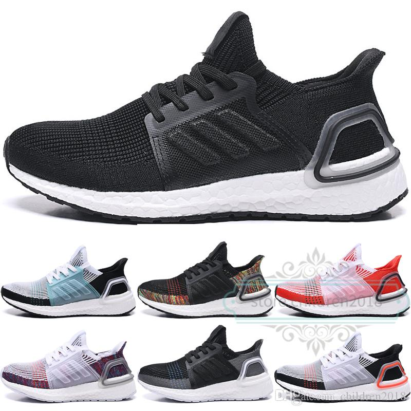 the best attitude ef78e 119d1 Ultra Boost 2019 Kids Shoes For Boys Girls Sneakers Ultraboost 5.0 Running  Shoes Multi-Color Black White Baby Children Shoes Size 28-35
