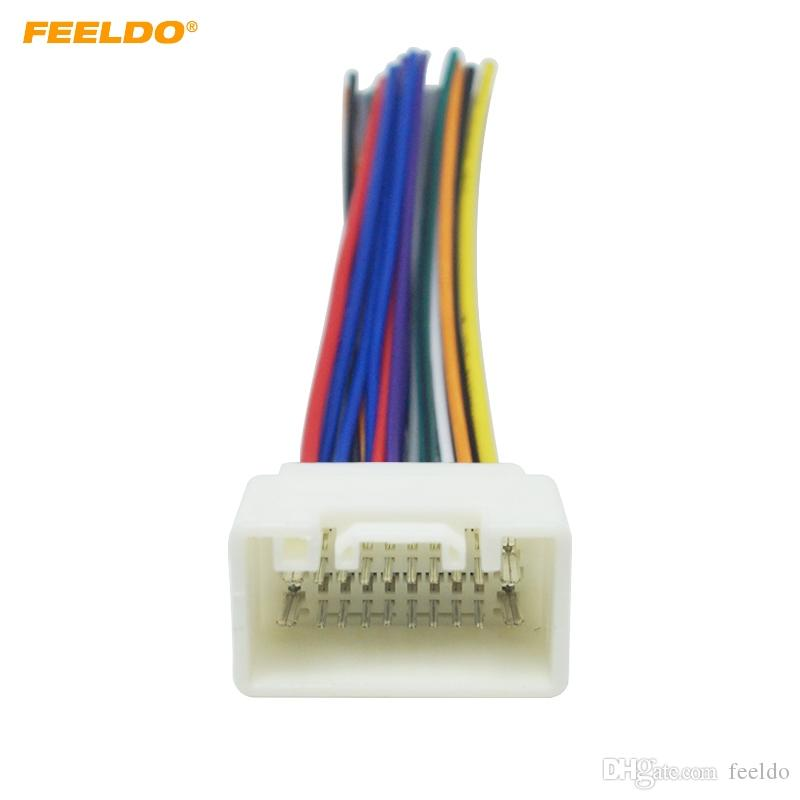 Terrific 2019 Feeldo Car Radio Stereo Wiring Harness Adapter For Mitsubishi Wiring Database Gramgelartorg