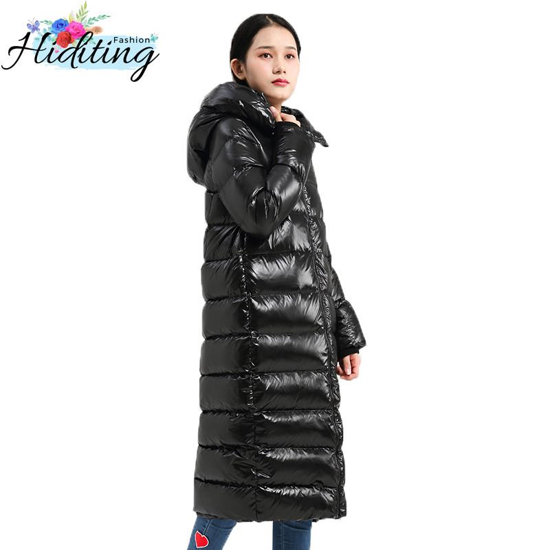 0c1579cdb10 2019 Winter Women Down Jacket 2018 High Quality Cocoon Long Fashion White  Duck Down Outerwear Female Thickening Loose Warm Coat WIN25 From Cety, ...