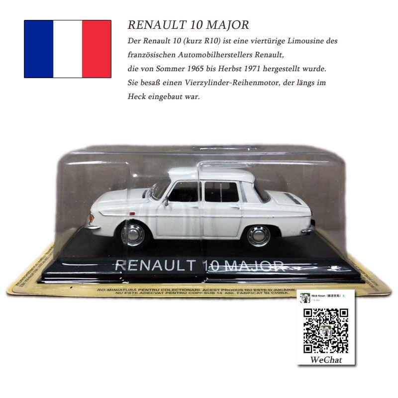 Diecast Decoración Metal Colección Major Juguetes Renault 143 Coche De 10 Modelo Para Francia Juguete Escala Ixo Regalo Kcul3TFJ15