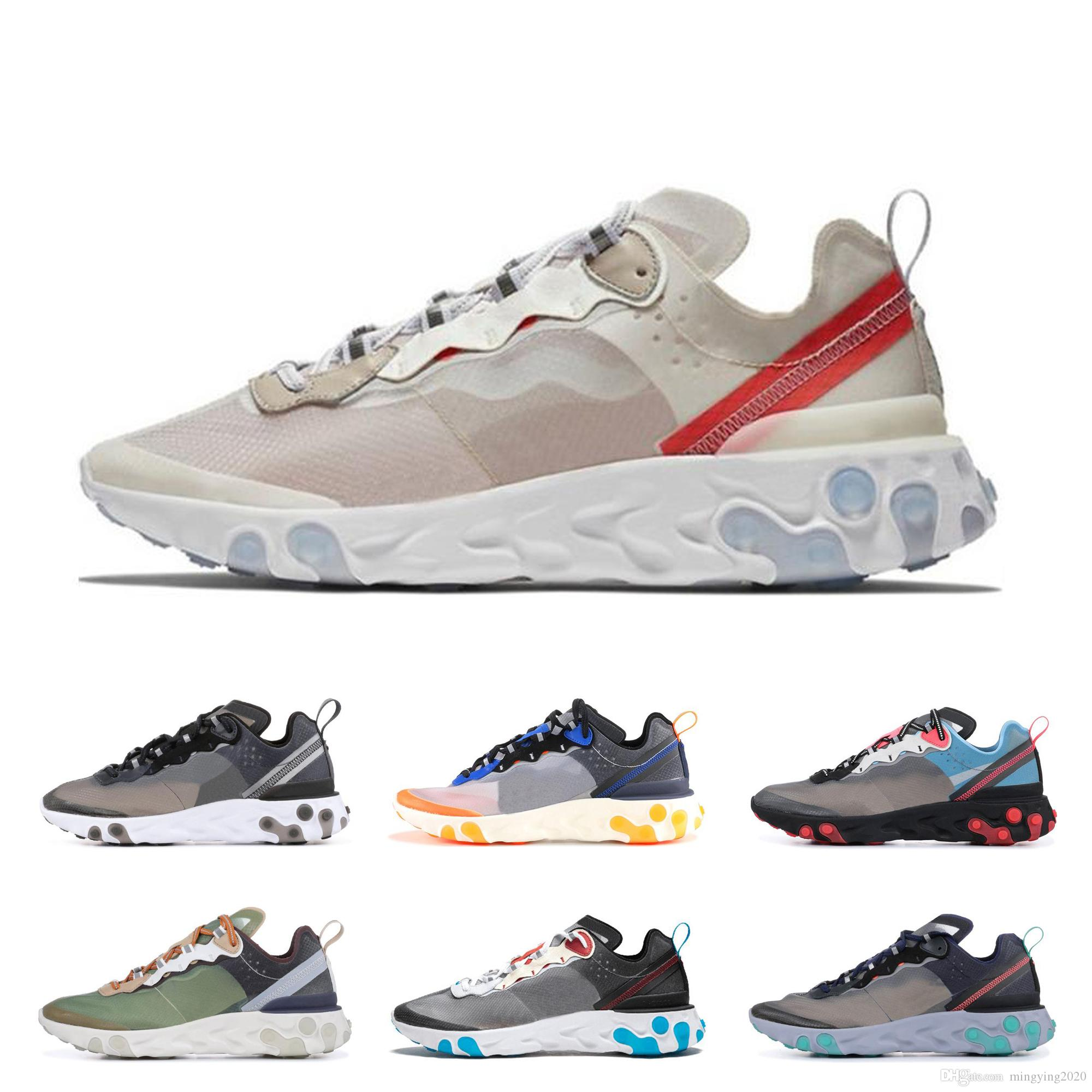 4fefb63d7e63 Epic React Element 87 Undercover Mens Designer Running Shoes 2019 ...