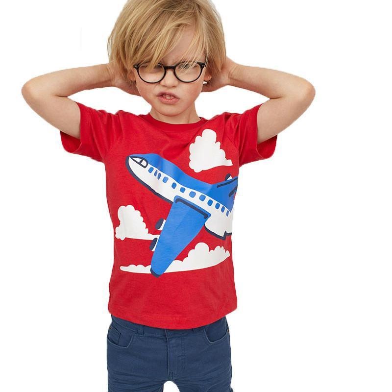 675dc7e8f Compre 2019 New Boys Girls T Shirt Ropa Para Niños Camisetas Ropa Para  Niños Aviones De Impresión Camisetas Baby Costume 1 6Y A  19.21 Del  Superbest17 ...