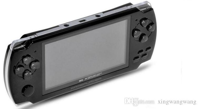 أفضل 4.3 بوصة PMP لعبة المحمولة لاعب MP3 MP4 MP5 كاميرا فيديو لاعب FM محمول 8GB حدة تحكم لعبة شحن مجاني