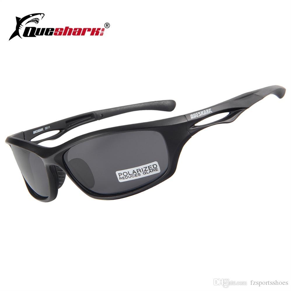 3ea36cbc221b QUESHARK Men Women Sports Cycling Eyewear Matte Black TR90 Bicycle ...
