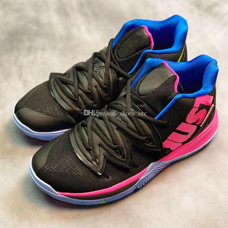 2019 2019 New Hot Sale New Kyrie Basketball Shoes Black Magic For Sale Top  Quality Irving 5 Store Mens Sports Sneakers 7 12 From Shoes inc 106089f04