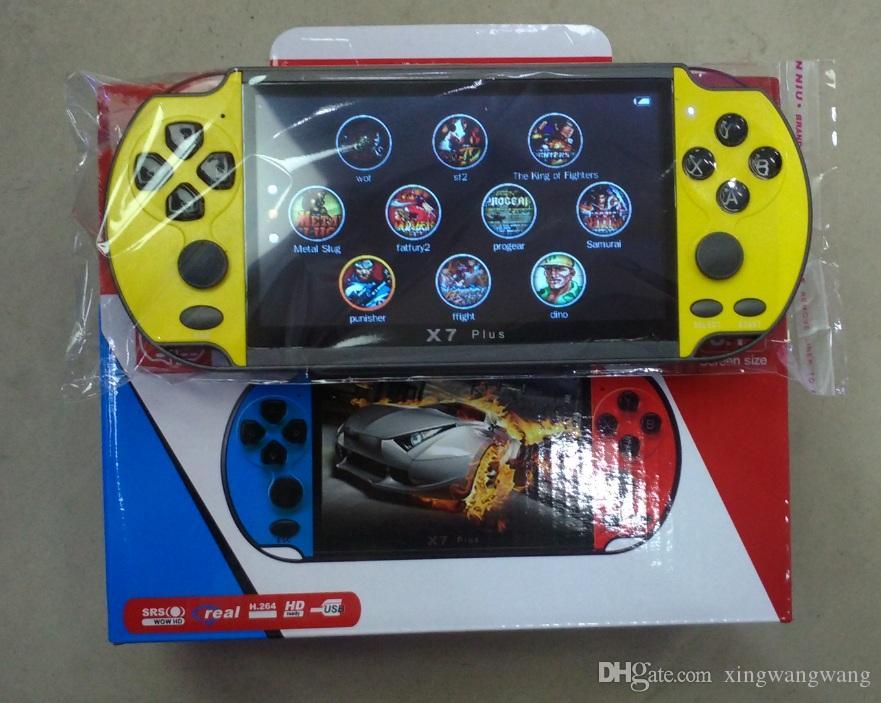 X7 плюс видеоигры игроки 5.1-дюймовый GBA портативный игровой консоли ретро игры ЖК-дисплей 5.1-дюймовый игровой плеер для мужчин женщин детей 5 цветов