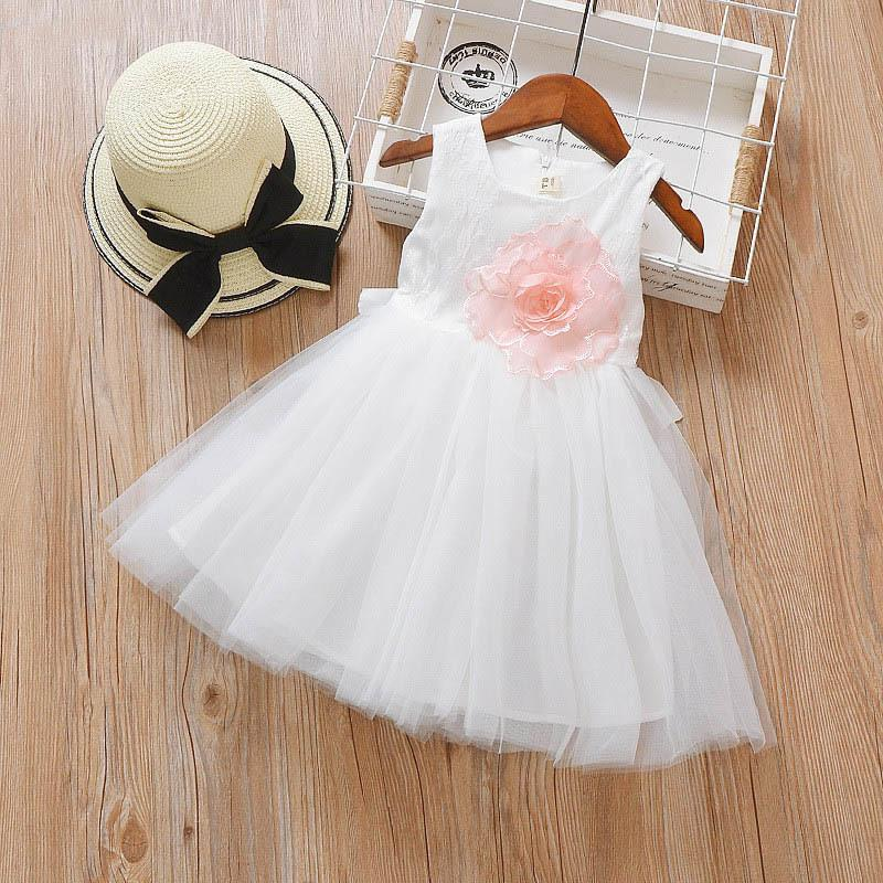 b68c1c421f45 2019 Good Quality Summer Girls 2019 Dress Children Girls Cotton Lace Ball  Gown Dresses Kids Girls Princess Costume Baby Wedding Clothing From  Textgoods03, ...