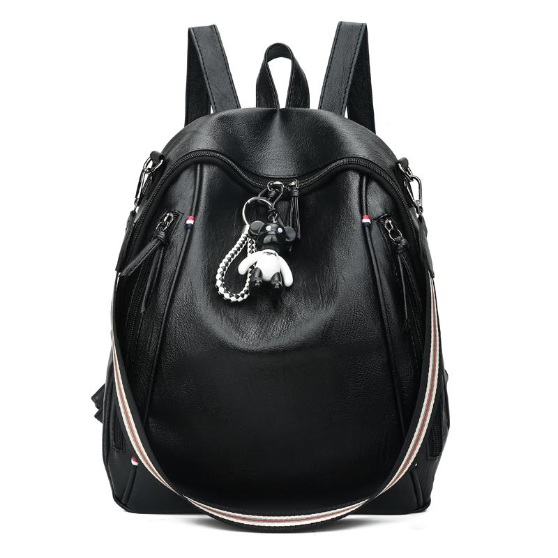2019 Hot Sale Style Bookbags Womens Backpack PU LeatherTravel Bags Student  School Bag Girl Backpacks Casual Travel Rucksack Messenger Bags Leather  Backpack ... 67b144198