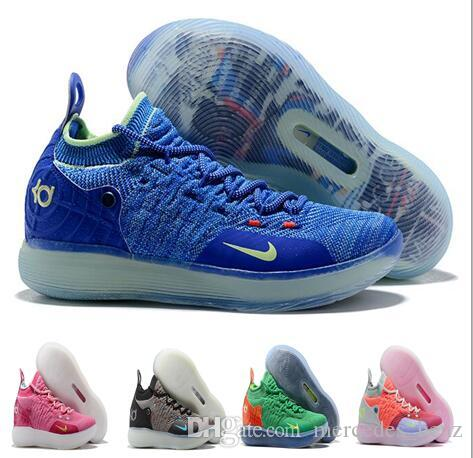 bf84166467e89f 2019 Men 2019 New KD 11 EP White Orange Foam Pink Paranoid Oreo ICE  Basketball Shoes Original Kevin Durant XI KD11 Mens Trainers Sneakers  Size40 From ...