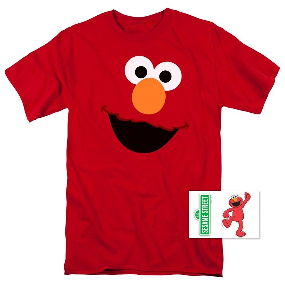 62478d565 2017 Fashion Casual Streetwear Sesame Street Elmo Face T Shirt & Exclusive  Stickers Brand Clothing Men T Shirt Vintage T Shirt Cute T Shirts From  Tayler, ...