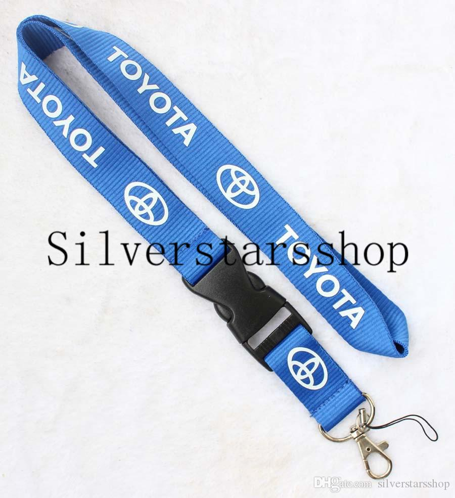 Newest Auto Car Logo Neck Strap Lanyard for Keyring Key Chains Cellphone Cord ID Card