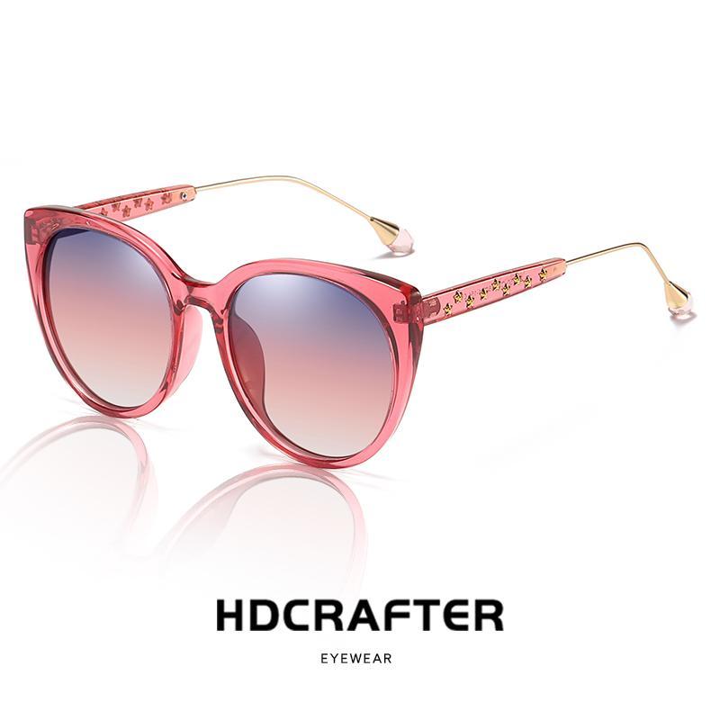 7c2a10550f Brand Design Luxury Polarized Sunglasses Women Ladies Gradient Cat Eye Sun  Glasses Female Vintage Oversized Eyewear 2019 New Online with  41.13 Piece  on ...
