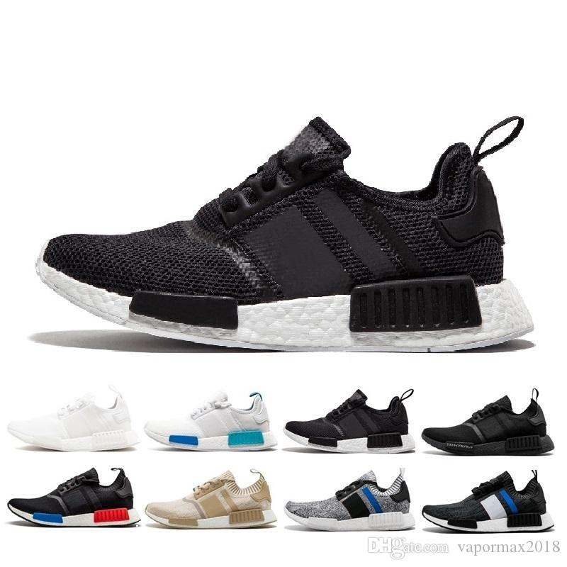 on sale 24608 0e8a2 2019 High Quality NMD XR1 Mens Casual Shoes Sample Yellow Core Black  Designers Shoes Men Women Shoes 36-45