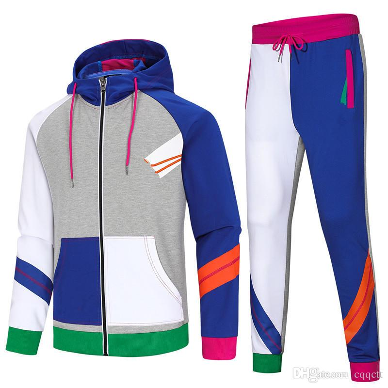 finest selection picked up where to buy 2019 Hot Sale Sport Brand Men ' ;S Women ' ;S Tracksuits Side ...