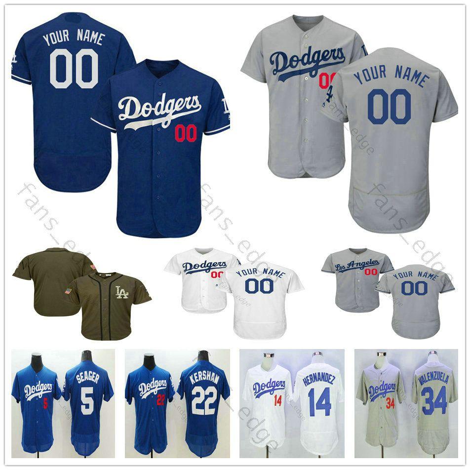 146ea8c6178 2019 Custom Mens Stitched  27 Matt Kemp 13 Max Muncy 31 Mike Piazza ...