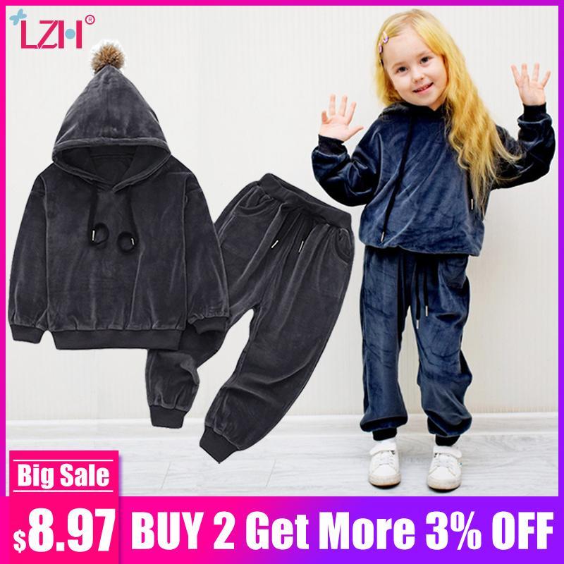 Meiden Kleding 2019.2019 Kinderkleding Lente Winter Peuter Meisjes Set Outfits Kids