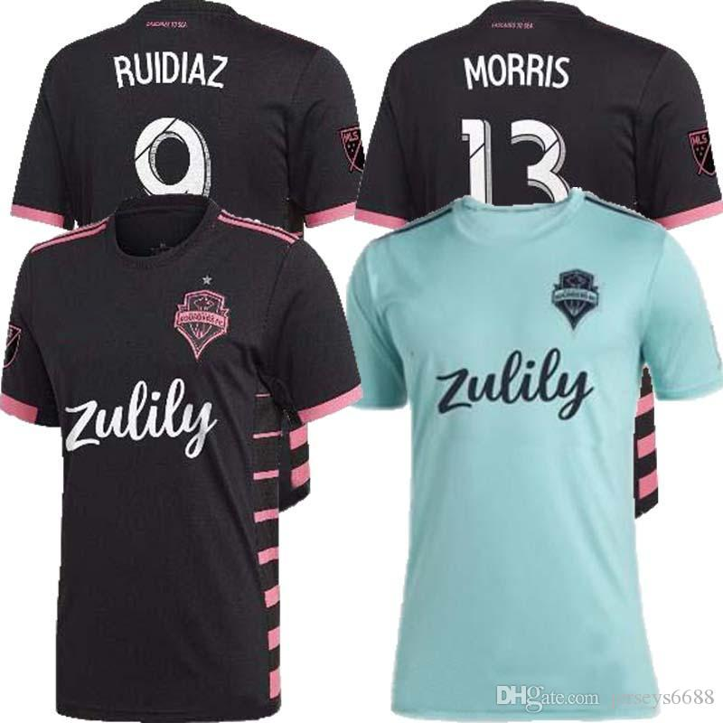 2019 2020 Seattle Sounders FC AWAY Soccer Jersey 19 20 MLS HOME RUIDIAZ MORRIS LODEIRO MARSHALL LODEIRO Football Shirt THAILAND QUALITY