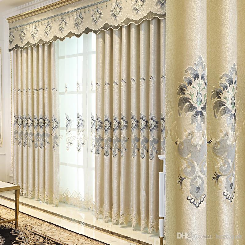 2019 chinese modern minimalist curtain european living room bedroom rh dhgate com  minimalist curtain ideas