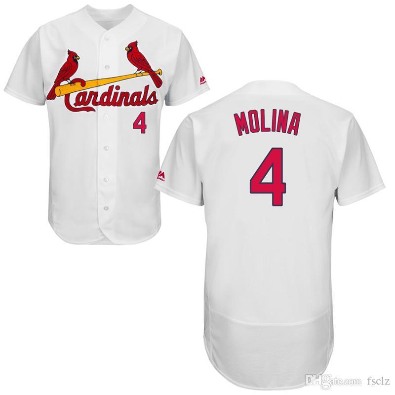 d77e89ed Mens Custom St. Louis Cardinals Yadier Molina Matt Carpenter Ozzie Smith  Stan Musial Harrison Bader Carlos Martinez 2018 Baseball Jersey