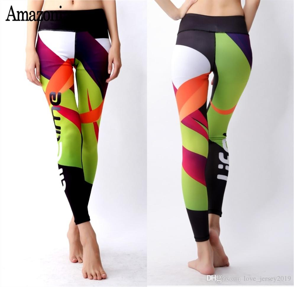 023b8c7022801 2019 KEERMIOL Hot New Women Yoga Pants 3D Printed Leggings Stretched Fitness  Workout Running Tight Sport Trousers Female Gym Jogging #169859 From ...