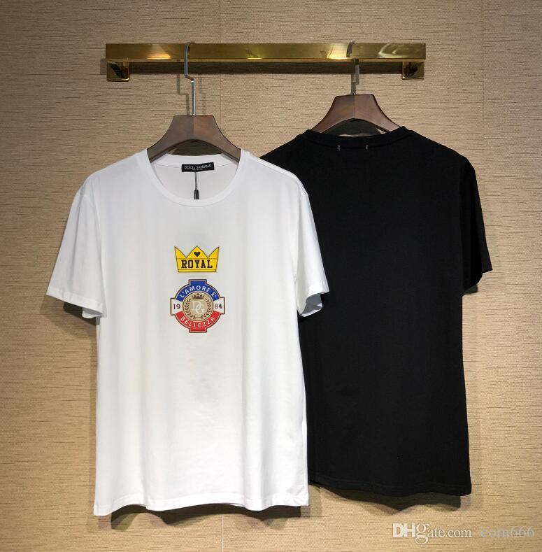 67d970667825a8 Fashion Tide Brand T-shirt Designer Mens Shirt Common Sense Summer ...