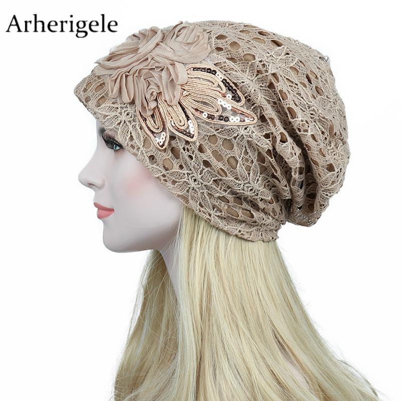 Compre Arherigele 1 Unids Moda De Encaje De Invierno De Las Mujeres ...