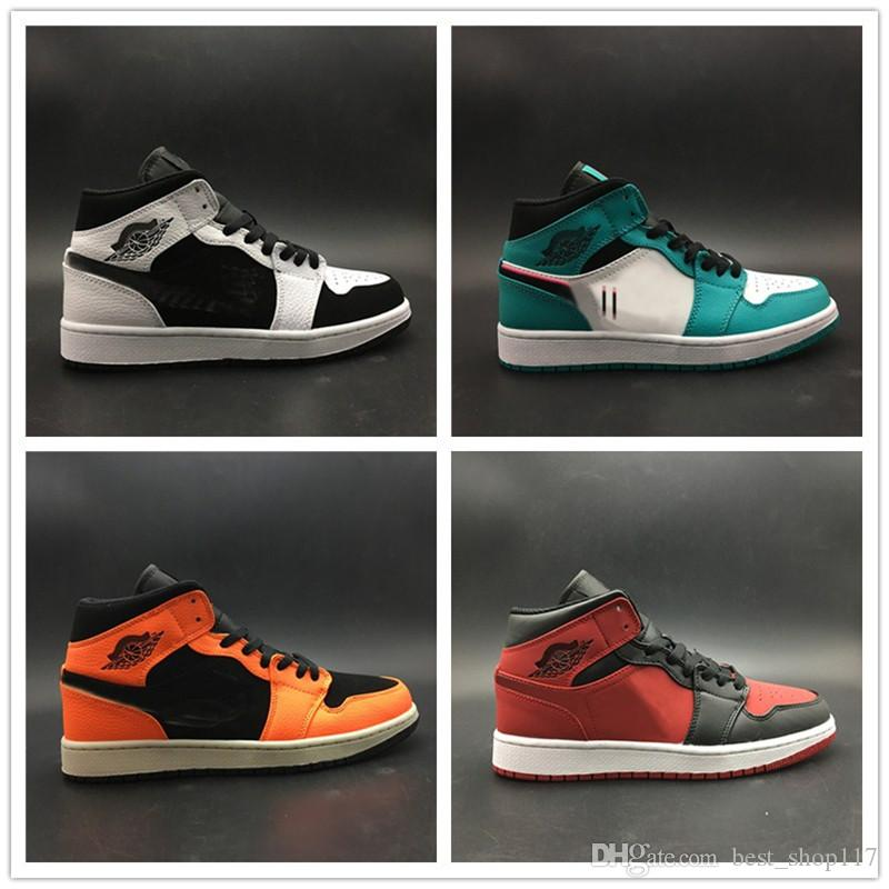 2019 Designer Basketball Shoes Four Colours High Cut Waterproof Top Quality Men Trainers Sports Sneakers Shoes Size 40-46
