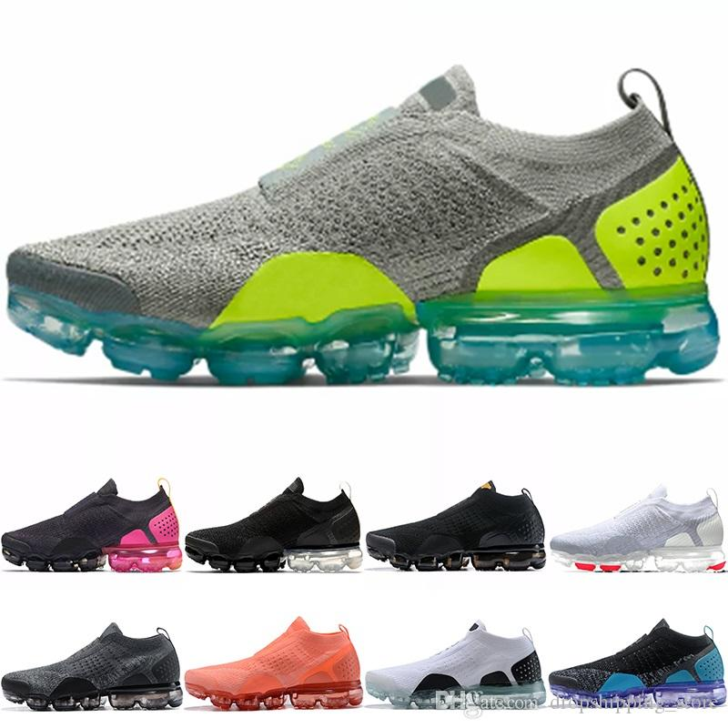 dfcf130ed6f2 2019 Air Xamropav MOC 2.0 Men Women Running Shoes Core Black White Oreo  Crimson Pulse Grey Top Cheap Athletic Sport Sneakers Size 36 45 From ...