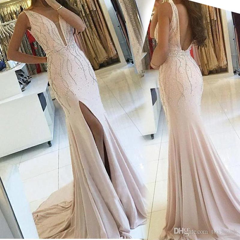 3255e6eb5c7c Cheap Flutter Sleeve Prom Dress Discount Nude Prom Dress Cap Sleeve Feathers
