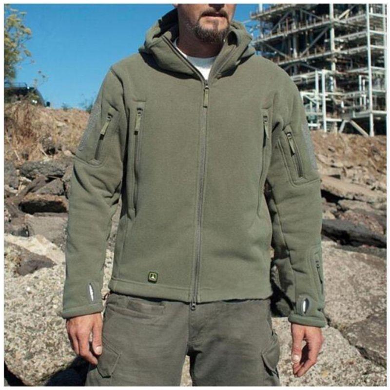43af0aa00 Soft shell outdoor warm underwear fleece jacket male cold suit hoodie