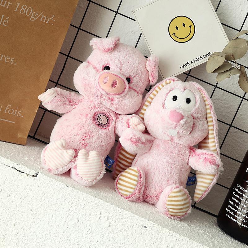 2019 Cute Cartoon Stuffed Toys Doll Long Eared Rabbit Plush Toy Down