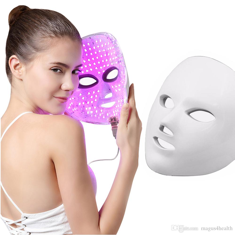 Skin Care Tool 4 Color Pdt Acne Removal Machine Facial Led Light Therapy Removal Wrinkle Acne Skin Rejuvenation Face Care Eu Us Uk Plug Consumers First