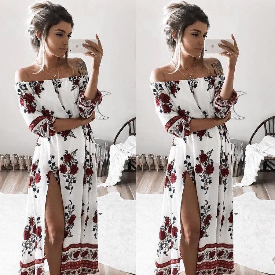 Maxi kleid damen sommer